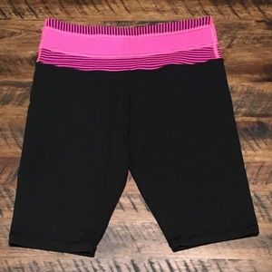 lululemon spandex running shorts